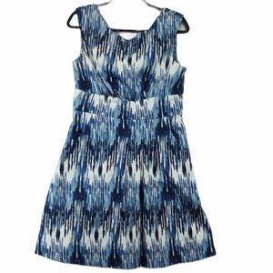 Calvin Klein V Neck A Line Dress Size 12
